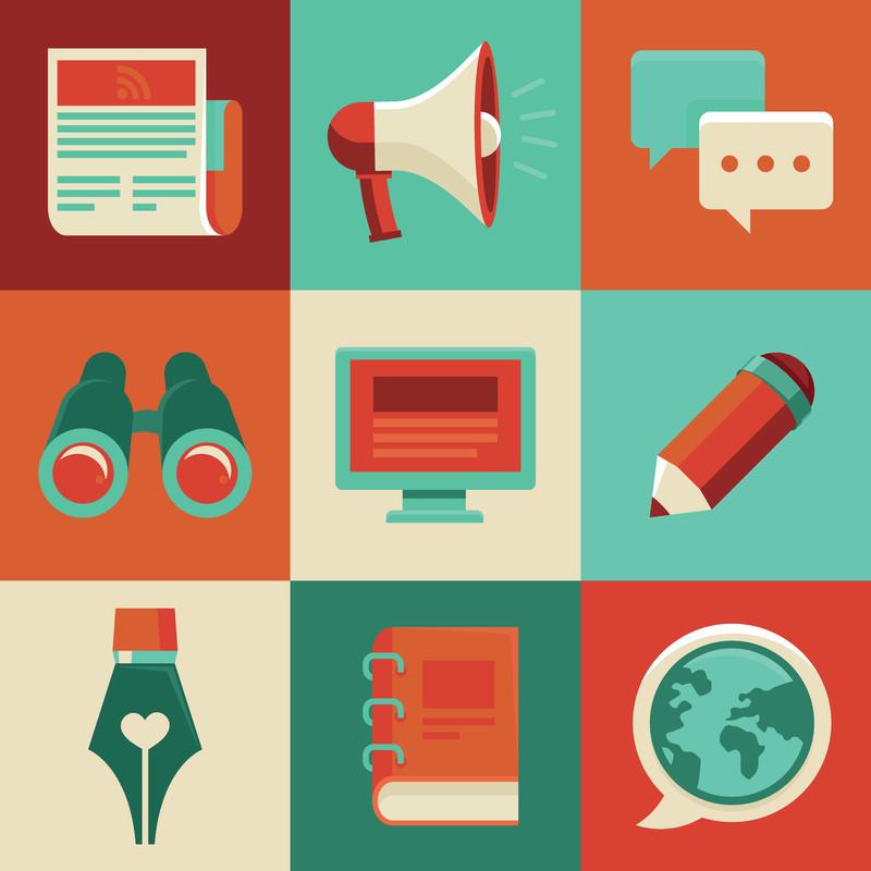 blogging writing social media